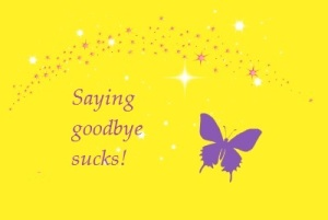 Butterfly goodbye